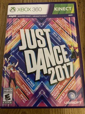 XBOX 360 Just Dance 2017 game for Sale in Holly Springs, NC