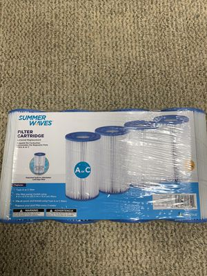 Summer Waves Pool Filter Cartidge AC for Sale in Orland Park, IL