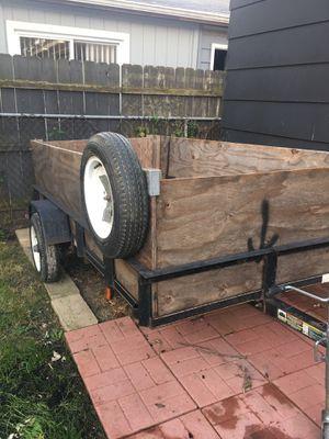 Utility Trailer 4x8 --No Title-- for Sale in Burbank, IL
