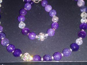 Purple jewelry set. for Sale in Turlock, CA