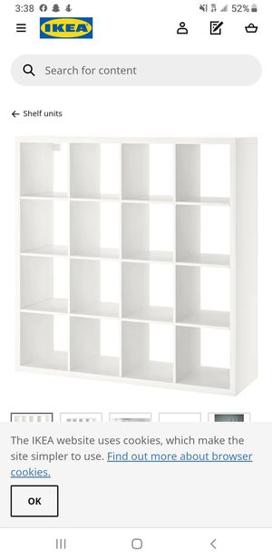 Ikea box shelving for Sale in San Diego, CA