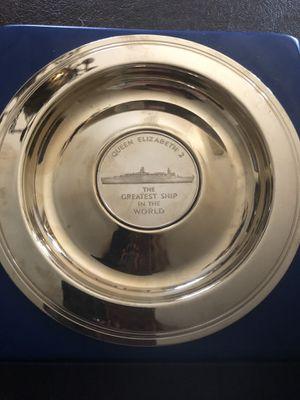 Queen Elizabeth 2 Souvenir Plate for Sale in Centreville, VA