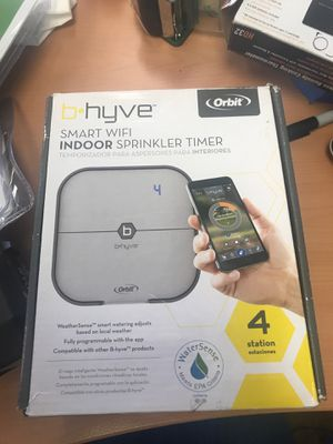 Smart WiFi indoor sprinkler timer for Sale in Phoenix, AZ