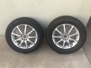 Enkei 17in wheels for Sale in Modesto, CA