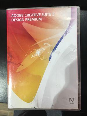Adobe Creative Suite 3 Premium including Photoshobe, Adobe Illustrator, Dreamweaver Etc for Sale in Richardson, TX