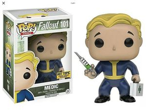 Hot Topic Exclusive Funko POP Fallout Medic for Sale in Amarillo, TX