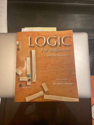 Logic for beginners third edition for Sale in Anaheim, CA