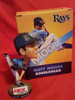 TB Rays Matt Moore Bobblehead for Sale in St. Petersburg, FL