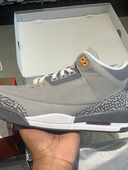 """Cool Grey"" Jordan 3 Retro for Sale in Alexandria,  VA"