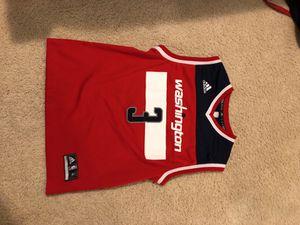 Bradley Beal adidas wizards jersey for Sale in Rockville, MD