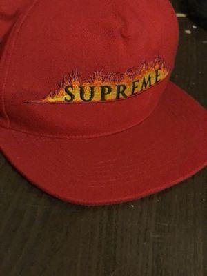 (RARE) Supreme Burning Fire Hat for Sale in Dallas, TX