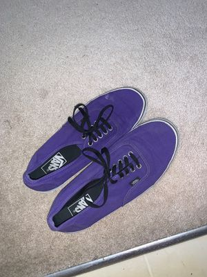 Purple vans for Sale in Bolingbrook, IL