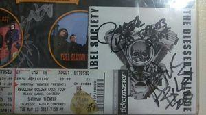 Zakk wylde blessed hellride CD signed and guitar pick for Sale in Philadelphia, PA