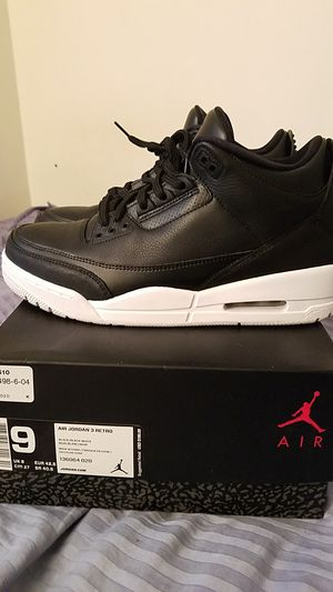 Jordan 3 size 9 for Sale in Fairfax, VA