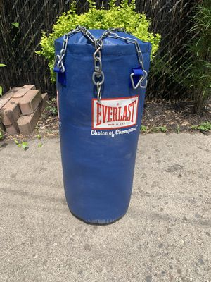 Everlast punching bag for Sale in Dearborn Heights, MI