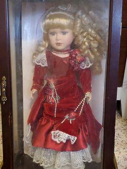 "1999 Camellia Garden 16"" Porcelain Doll for Sale in San Angelo,  TX"