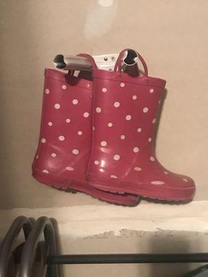 Girls rain boots for Sale in Haymarket, VA