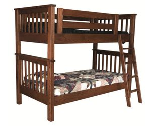 Bunk beds, great quality, study timber with rolling trundle for Sale in Seattle, WA