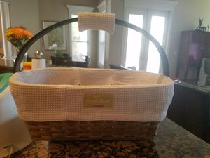 Sarah Bear Diaper Caddy basket for Sale in Winter Haven, FL