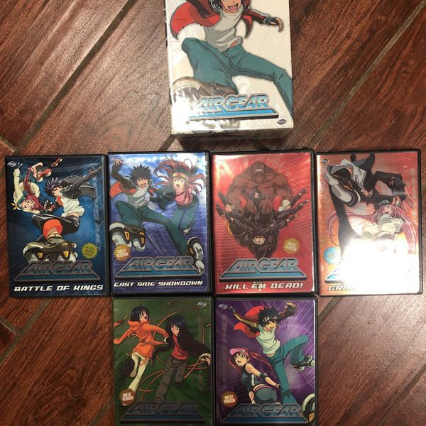 Air Gear Limited Edition Out of Print DVD Boxset