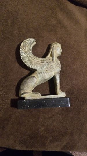 8 in bronze Egyptian Spinx like statue for Sale in Las Vegas, NV