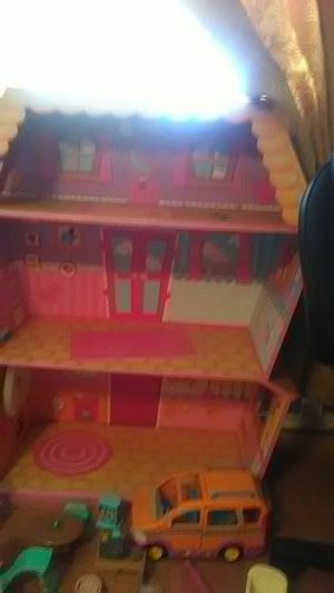 Lalaloopsy house truck and toys for Sale in Balch Springs, TX
