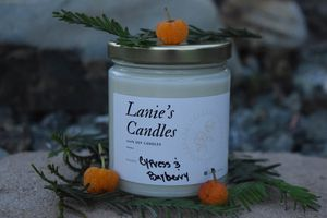 Cypress and Bayberry Handmade Soy Candle for Sale in Arroyo Grande, CA