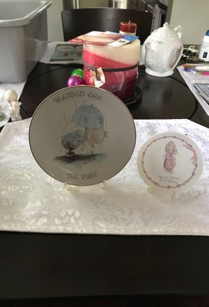 Precious moments plates for Sale in Middleburg Heights, OH