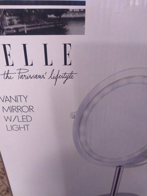 Elle Led lighted vanity mirror for Sale in Seymour, TN