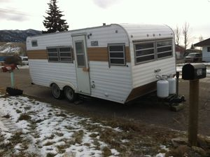 1974 Pull behind camper trailer for sale for Sale in Butte, MT