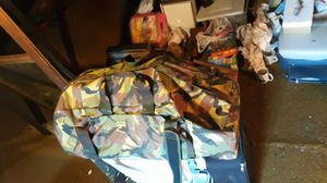 Jungle camo large size duffle bag/back pack for Sale in Boston, MA
