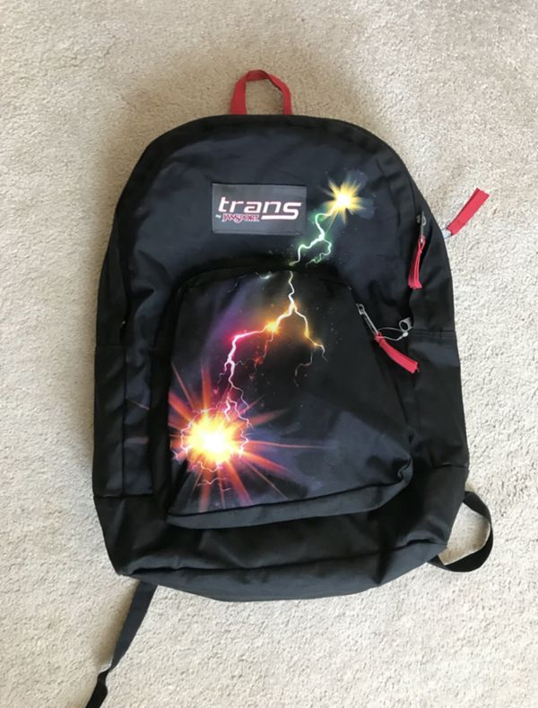 Trans Jansport Backpack Overt Multi Thunder in excellent condition like new (Pick up only)
