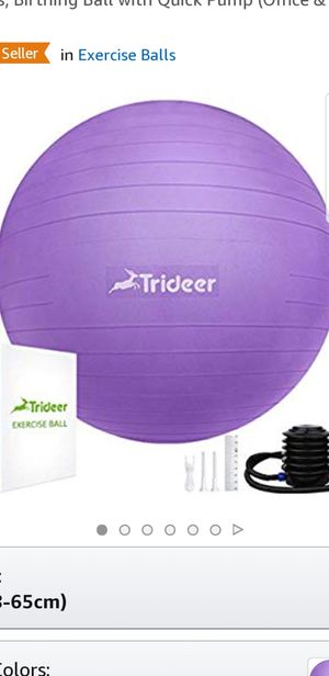 Exercise yoga ball for Sale in Los Angeles, CA