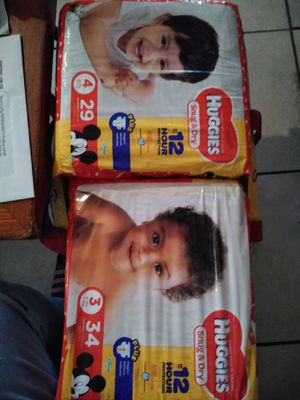 Huggies diapers and wipes for Sale in Haines City, FL