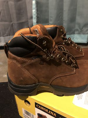 Men's size 9 Carolina Work boot for Sale in Byrnes Mill, MO