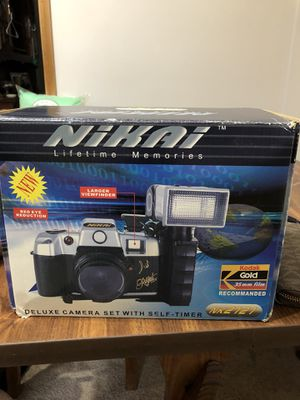 Nikai deluxe camera with self timer for Sale in Pittsburgh, PA