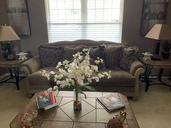 Coffee tables, End Table Set, Lamps