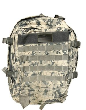 Brand NEW! Grey Digital Large Tactical Backpack For Everyday Use/Outdoors/Sports/Traveling/Hiking/Biking/Camping/Skateboarding for Sale in West Carson, CA