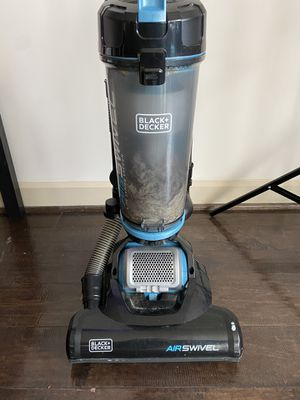 Black & Decker Airswivel Lightweight Upright Vacuum for Sale in Silver Spring, MD