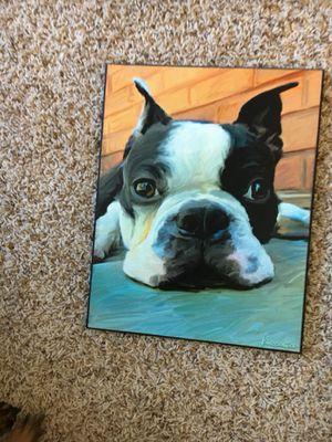 Boston terrier wall art for Sale in Houston, TX