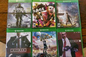 Xbox one games for Sale in Marshall, VA