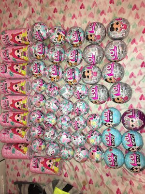 Lol surprise dolls hair goals, bling, boys,lil's, all authentic for Sale in Houston, TX