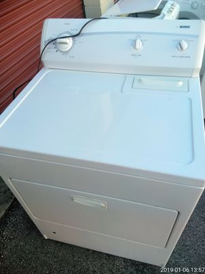 Kenmore Gas dryer works Good 1yr warranty free delivery {contact info removed} for Sale in Fort Washington, MD