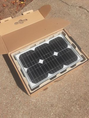 Solar panel 15 watt for Sale in Wichita, KS