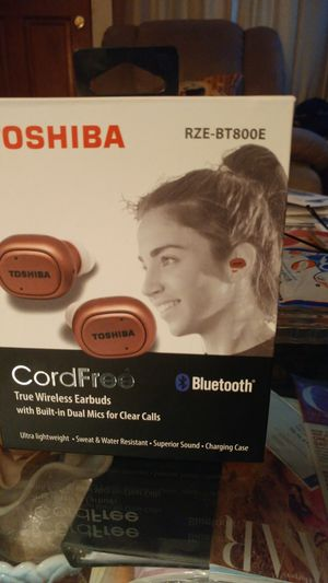 Toshiba cordfree wireless Earbuds for Sale in Madison Heights, VA