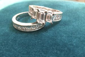 Engagement Ring & Wedding Band for Sale in Tampa, FL