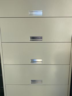 6 Shelf Storage Cabinet With Doors for Sale in Houston,  TX