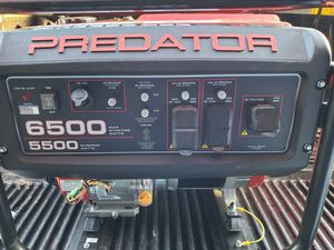 GENERADOR PREDAT0R 6500 WATTS for Sale in Houston, TX