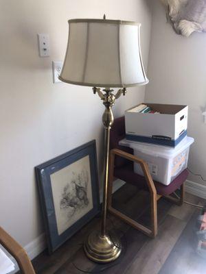 Stiffel brass floor lamp. for Sale in Winter Garden, FL
