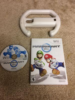 Wii Mario kart / wheel for Sale in Champaign, IL